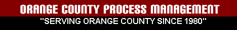 Process Server Orange County, CA